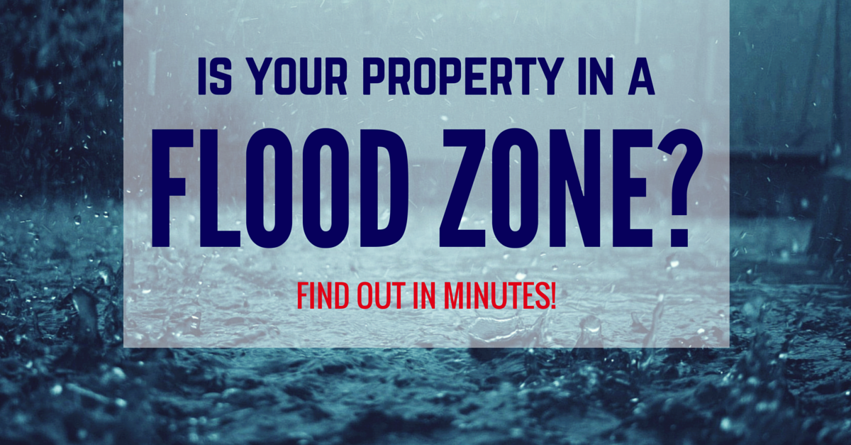 Is Your Property In A Flood Zone?