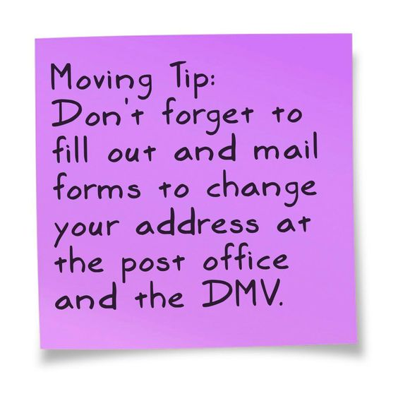 Change Your Address