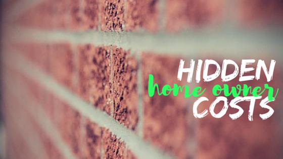 Hidden Homeowner Costs