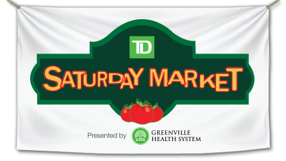 The TD Saturday Market in Downtown Greenville!