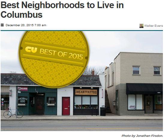 CU Top 10 Columbus Neighborhoods