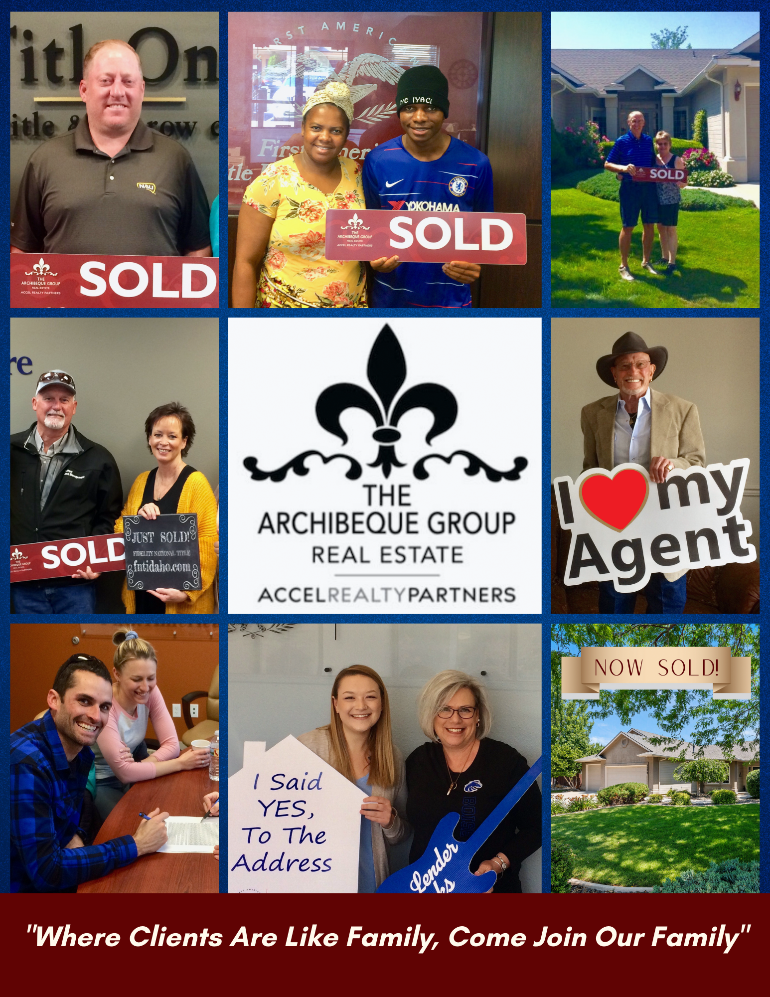 We LOVE to help our clients achieve their real estate goals!