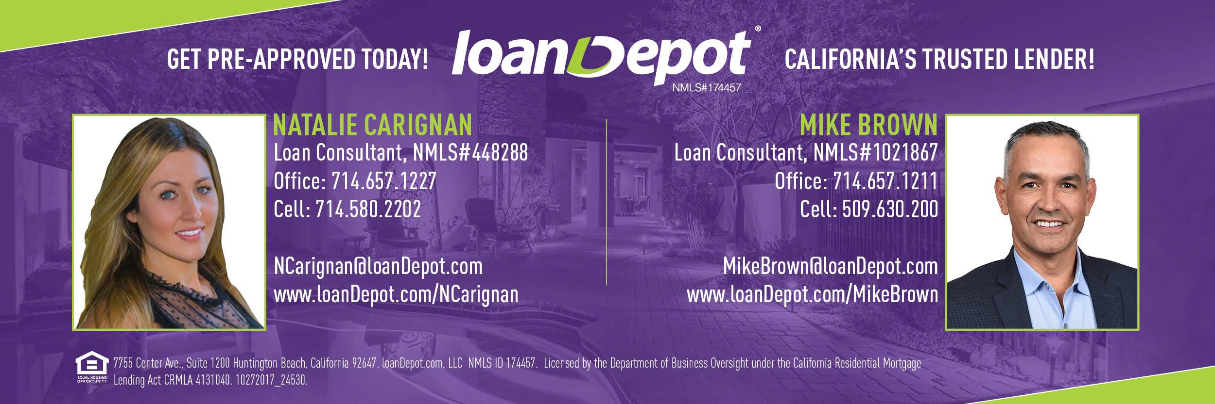 Loan Depot Contact info