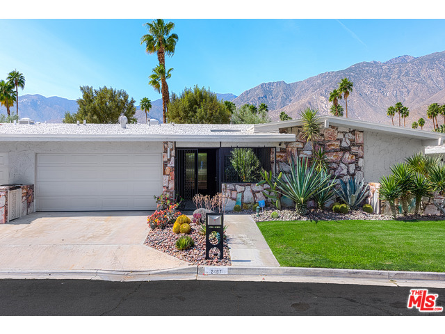 Scintillating mid century houses palm springs gallery for Palm springs mid century modern homes for sale