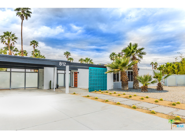 812 East Janet Circle mid century modern racquet club estates home for sale