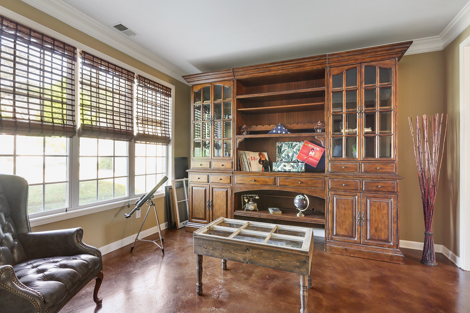 finally your unicorn great powder springs home spacious formal living room perfect spot for an office on the main level a music room a library or a formal sitting area view from dining room to