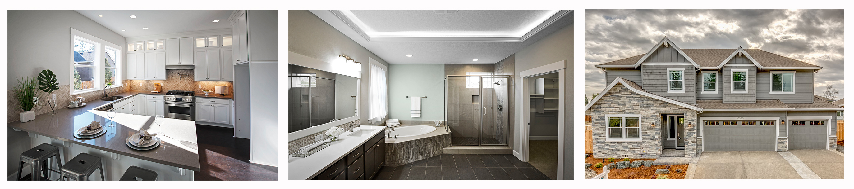 Mission homes finishes and style