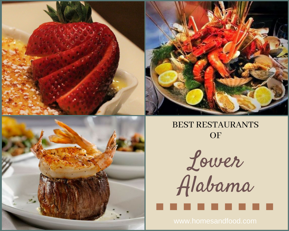 Best Restaurants of Lower Alabama