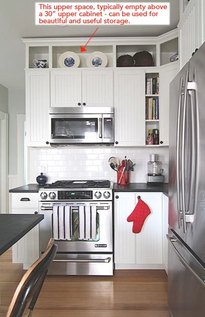 High End Kitchen Cabinets 1. By Simply Increasing The Height Of Your Existing Kitchen Cabinets You Instantly Make Your Entire Kitchen Feel More High End Heres An Example Of What I