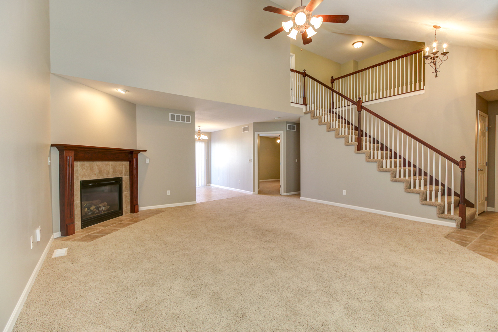 Two-Story Entry & Living Room
