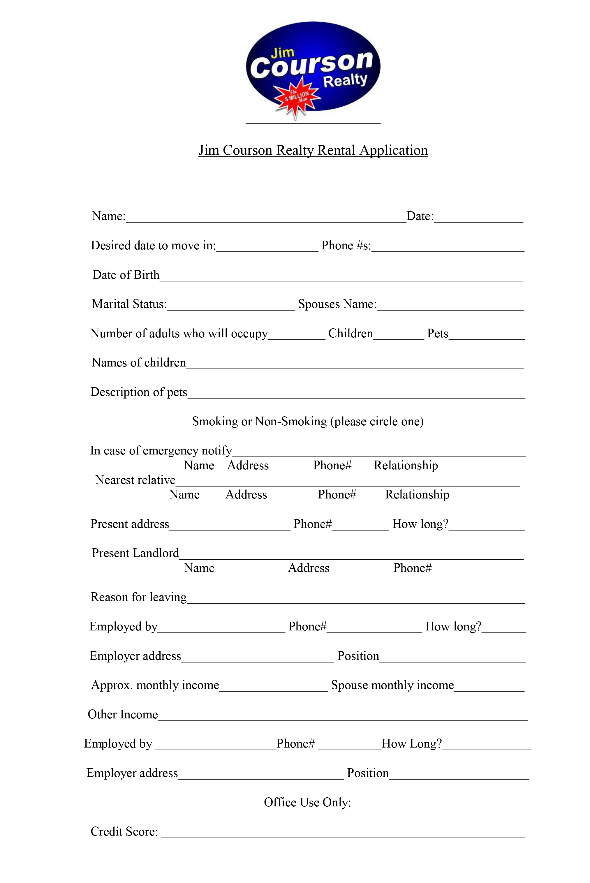 rental application please go to coursonrealty managebuilding com resident a to fill out our application online or you can print and return the application below