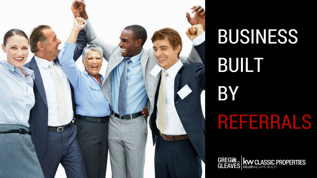 Business Built By Referrals