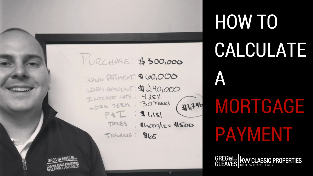 How To Calculate A Mortgage Payment