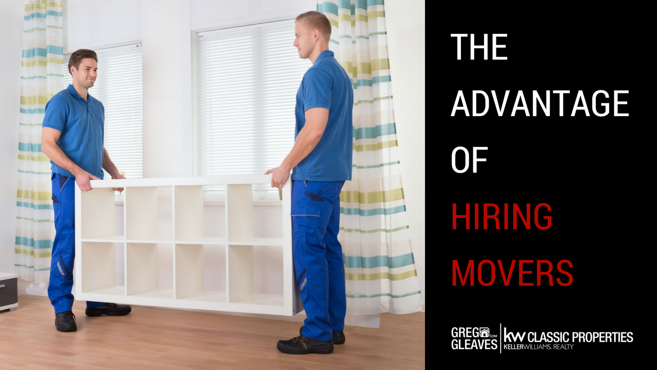 The Advantage Of Hiring Movers