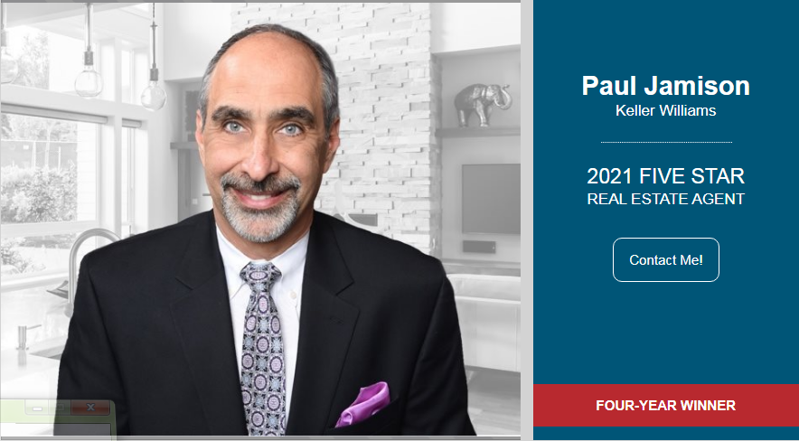 Paul is awarded 5-star real estate agent