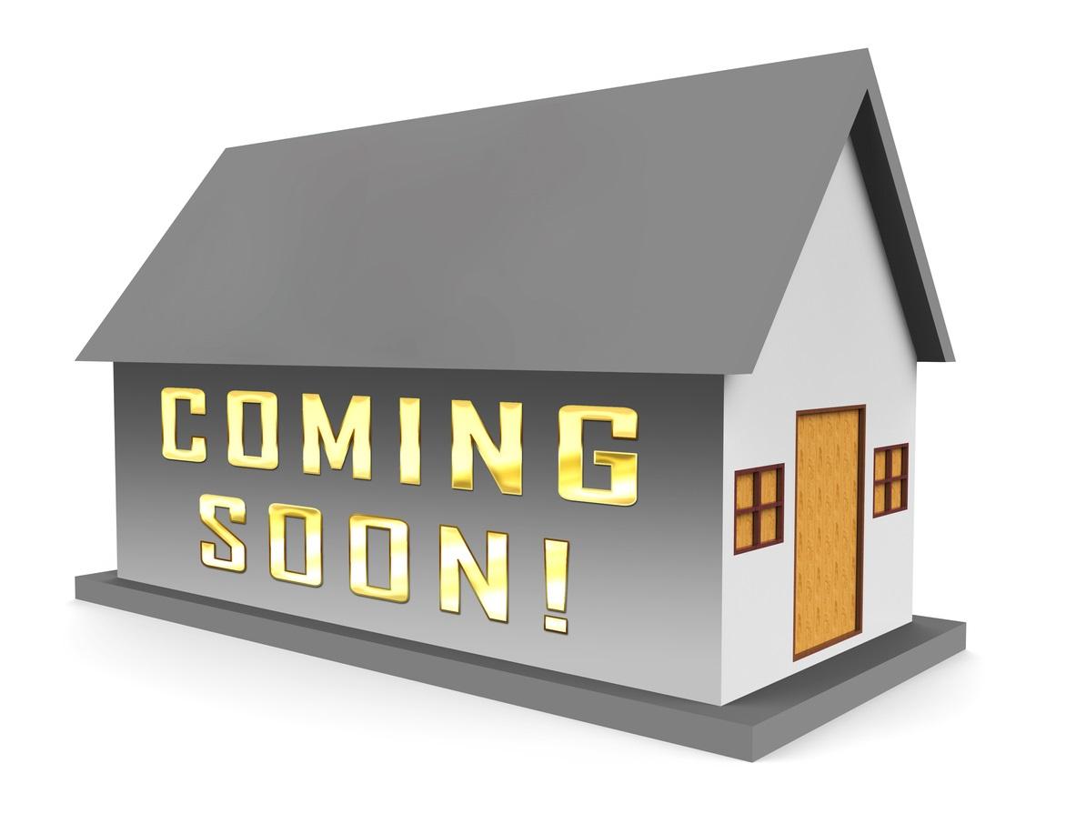 Coming soon real estate listings