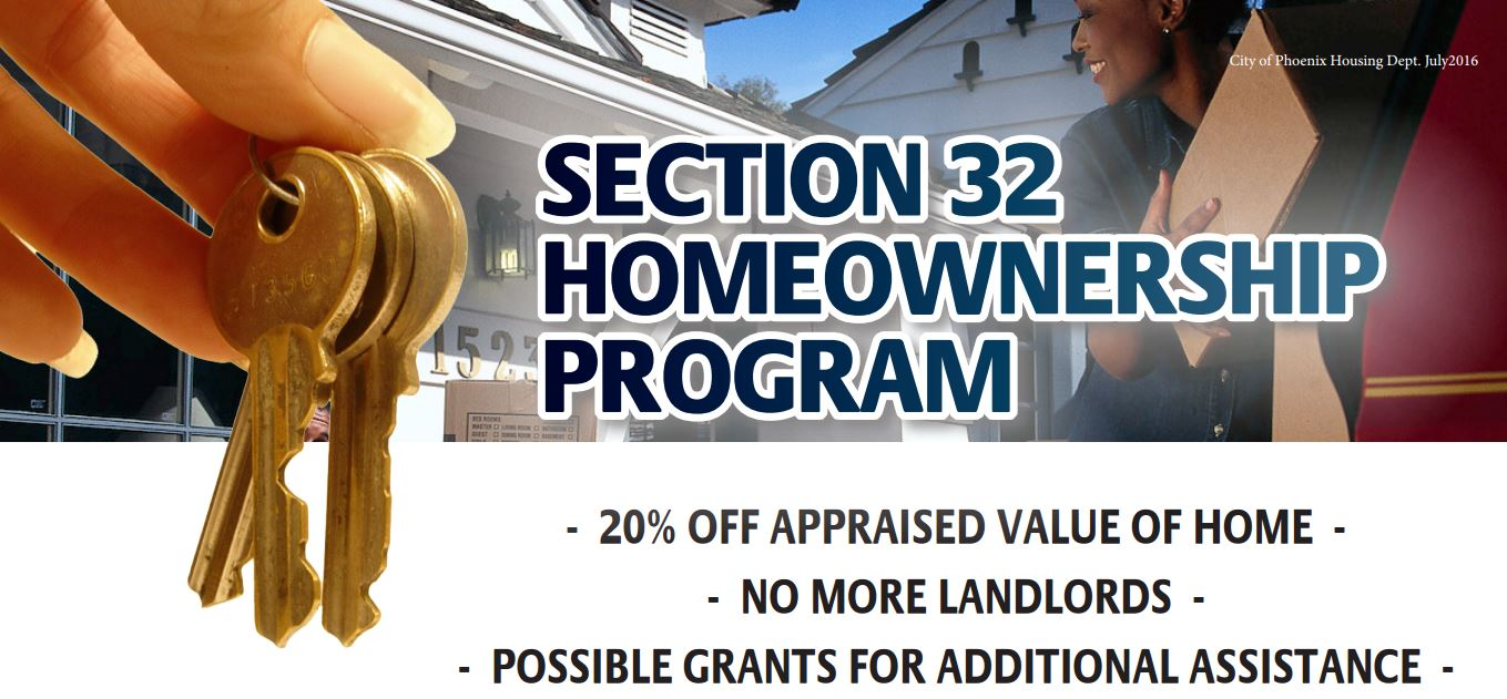 Section 32 Homeownership Program - City of Phoenix