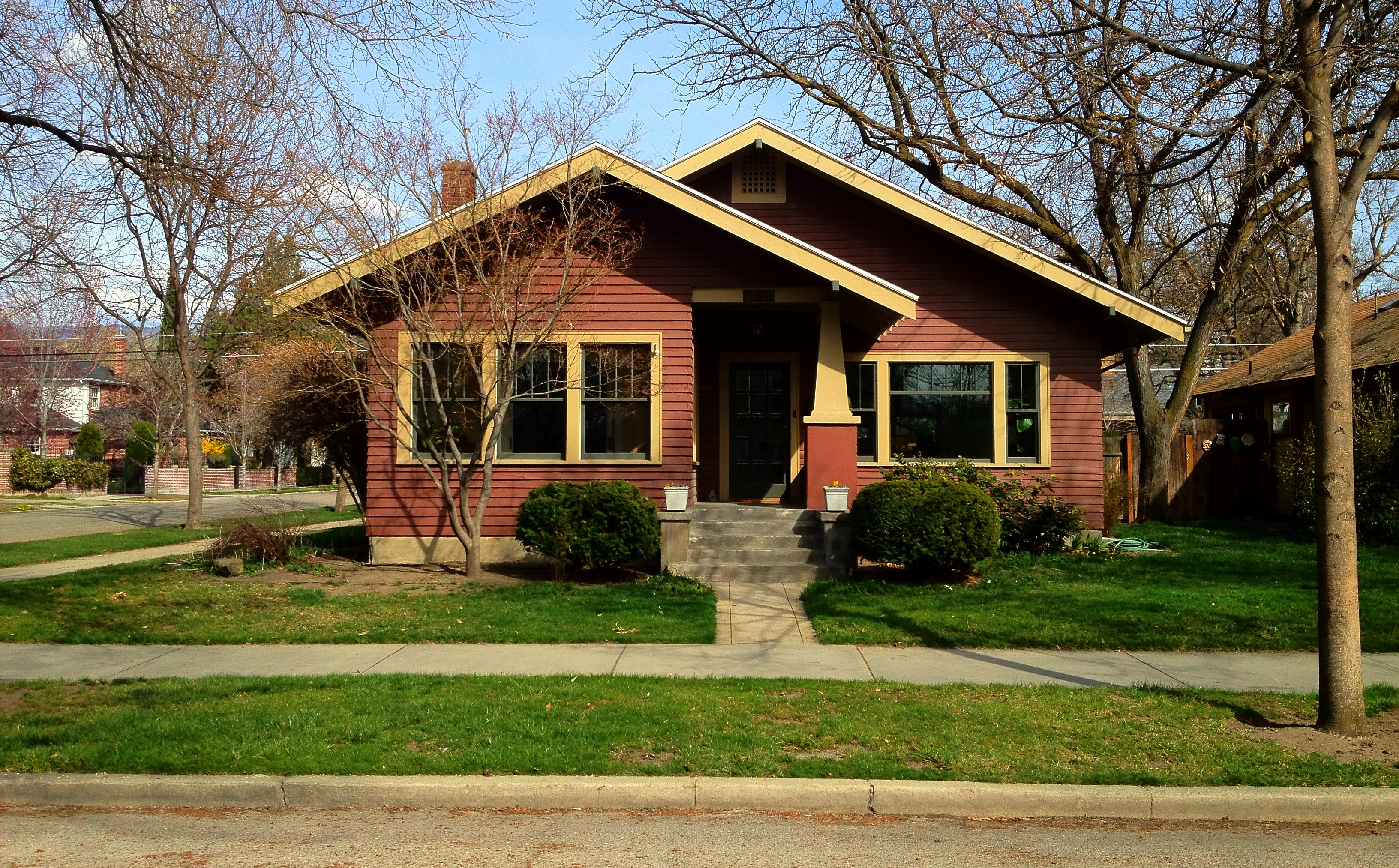 Boise home styles and architecture