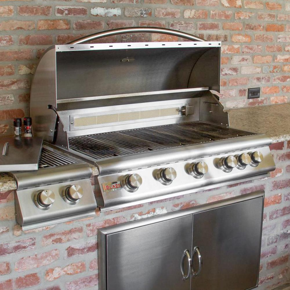 outdoor kitchen appliances packages dcs existing utility connections could narrow your choices but you can run natural gas line to the outdoor kitchen adequate plumbing pressure is must in outdoor kitchen basics