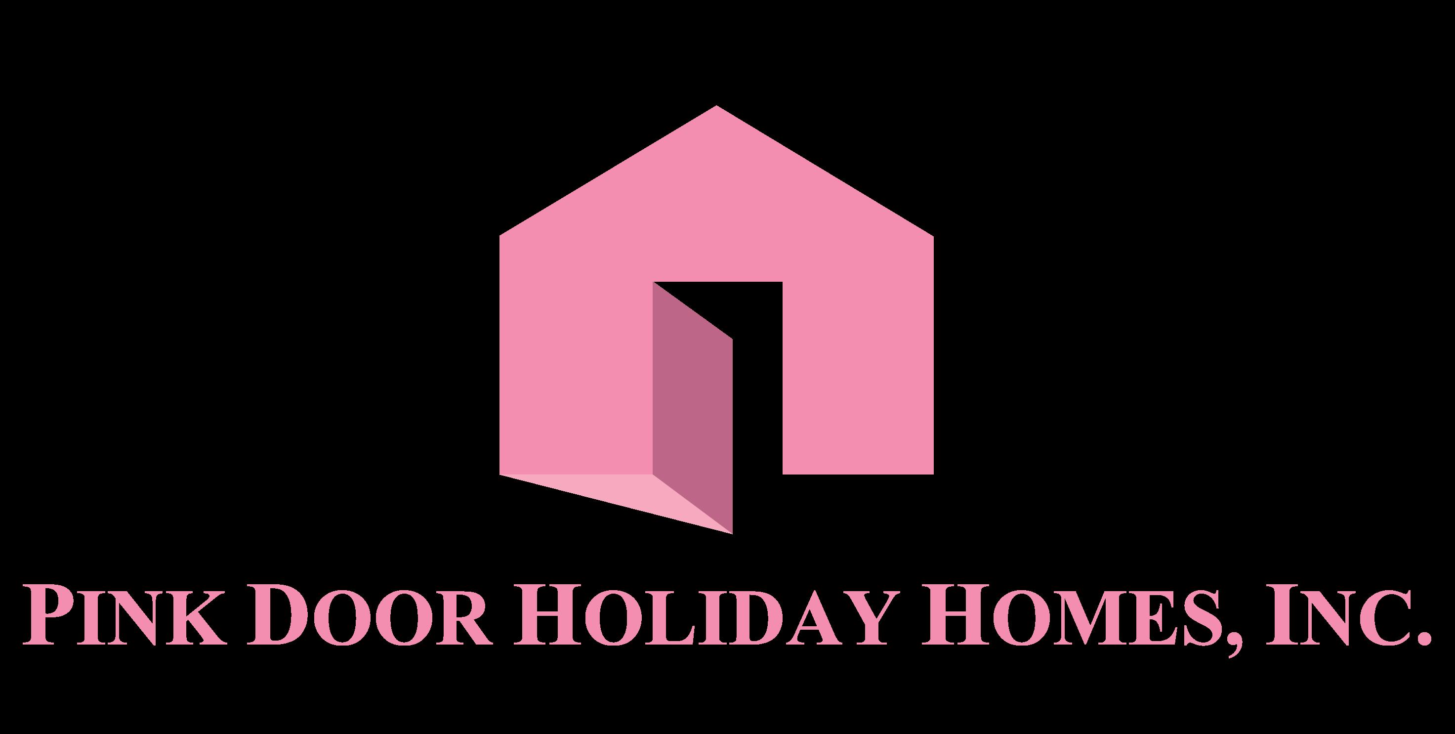 Pink Door Holiday Homes Logo