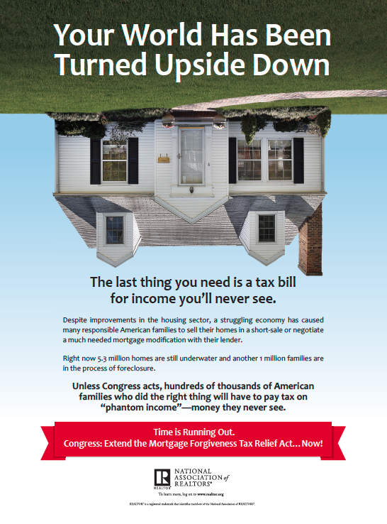 Help Extend Mortgage Debt Forgiveness