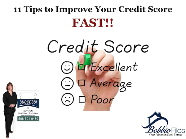 11 Tips to Improve Your Credit Score Fast
