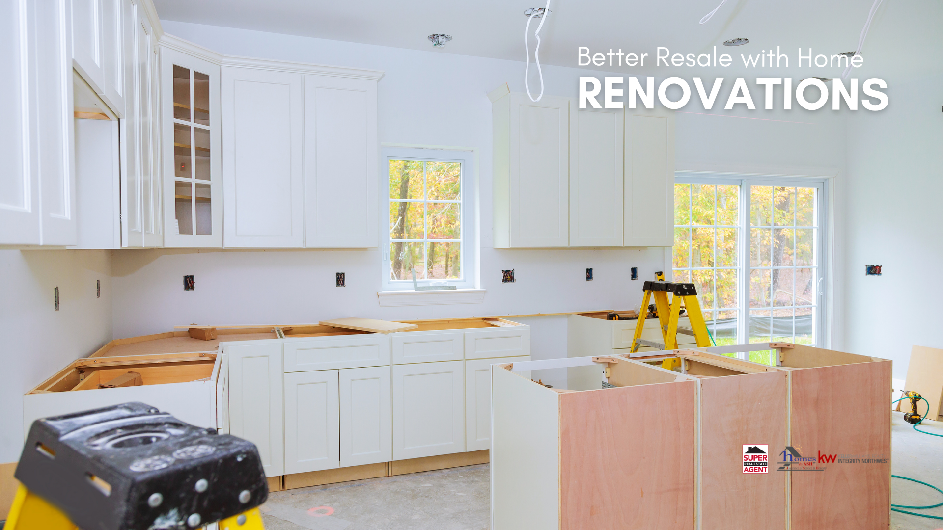 Home Renovation Strategies that help with resale!