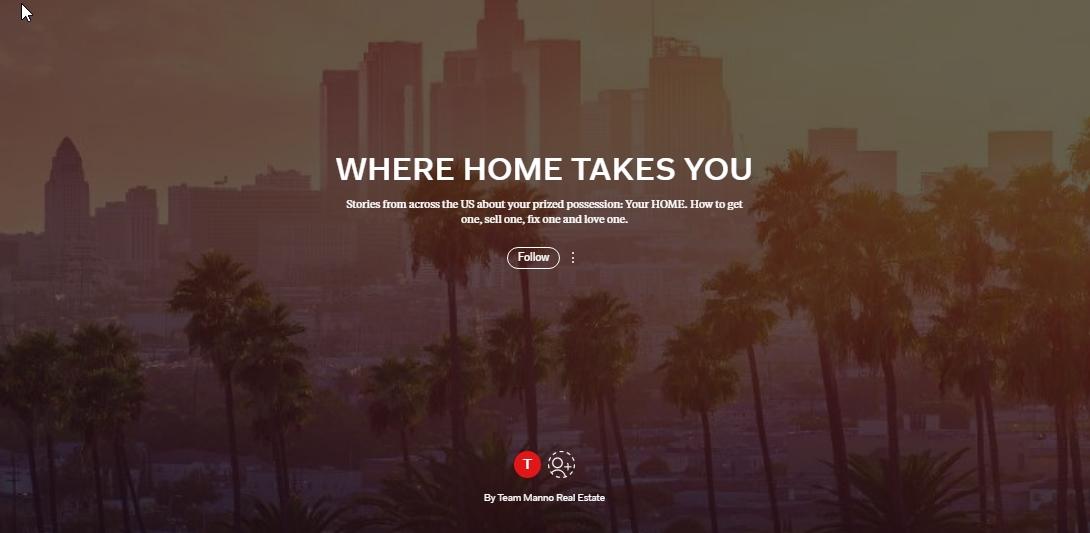 Where Home Takes You Magazine Cover