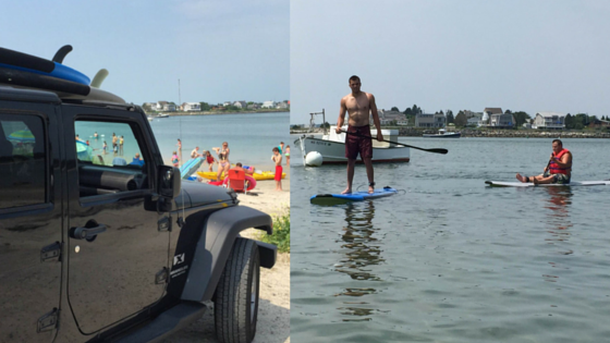 Paddle Boarding at Ferry Beach: Adapting the Watersport for Special Needs Adult