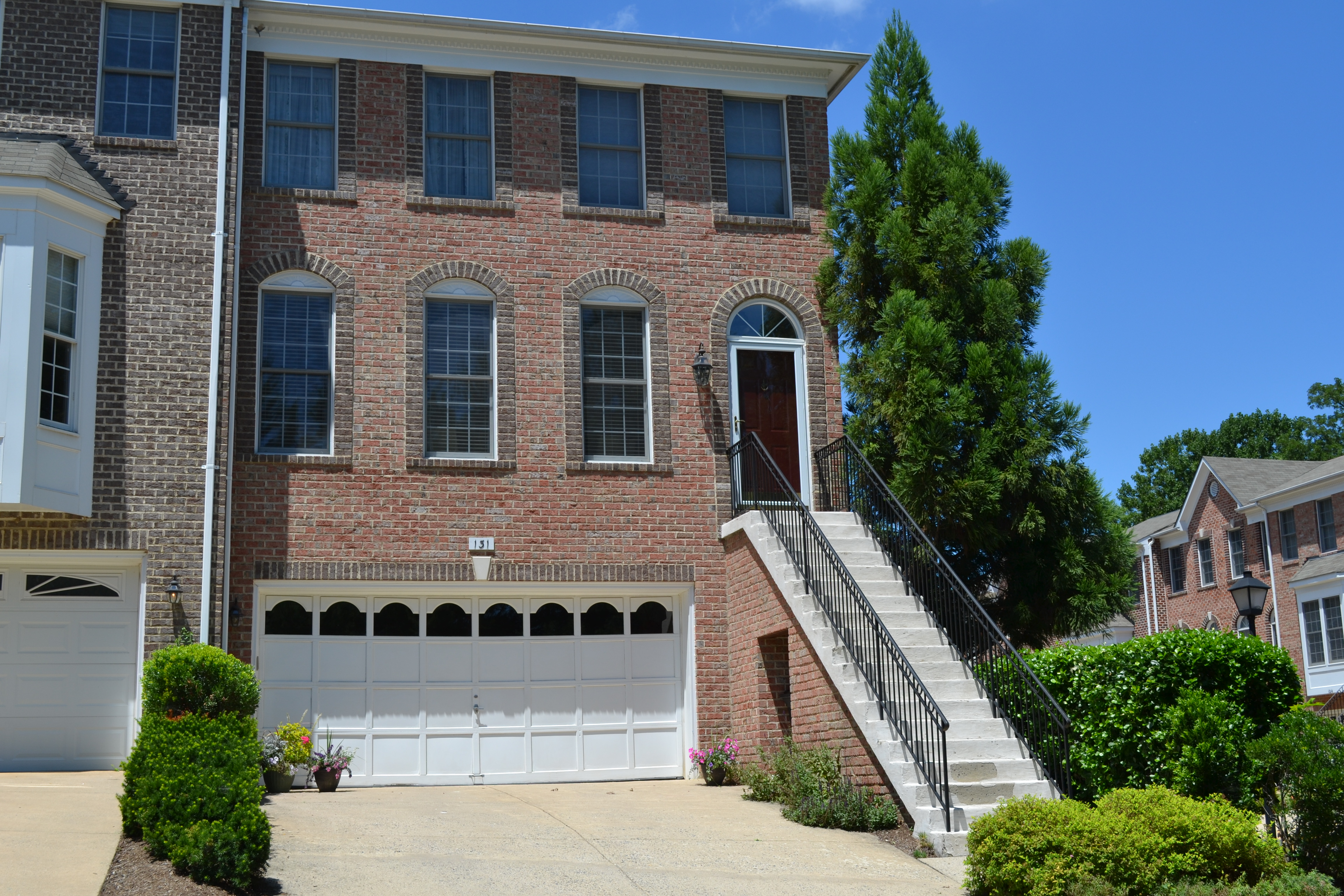For Sale Vienna VA Garage Townhome