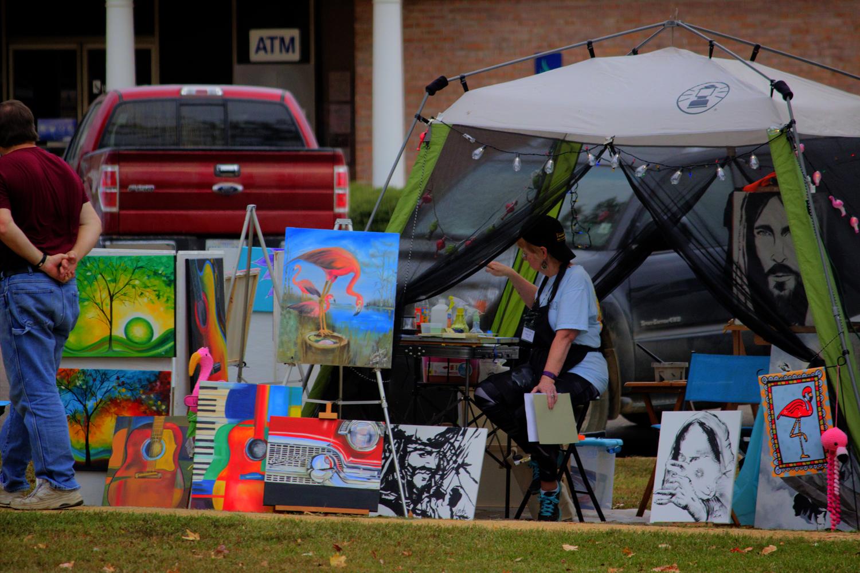 Skuna River Art and Music Festival - Bruce, MS