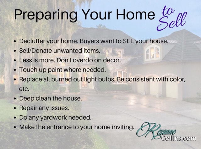 Preparing to List Your Home - Tips for Getting it Showing Ready!