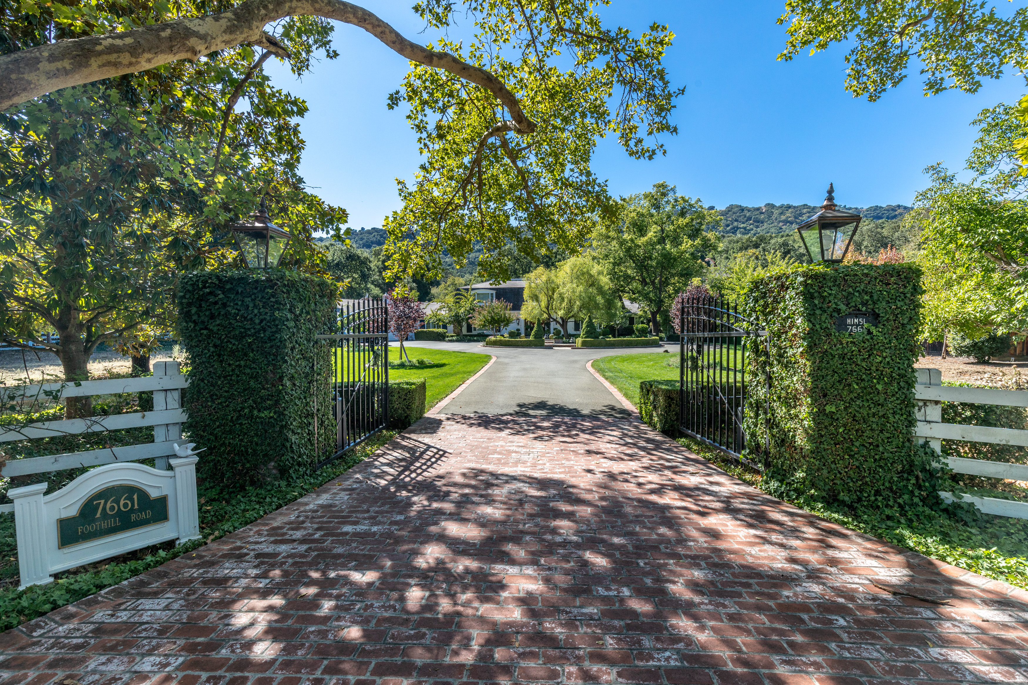 RECENTLY PURCHASED...SOLD! $3,998,000  Iconic Westside Pleasanton Custom Estate. First time on market!