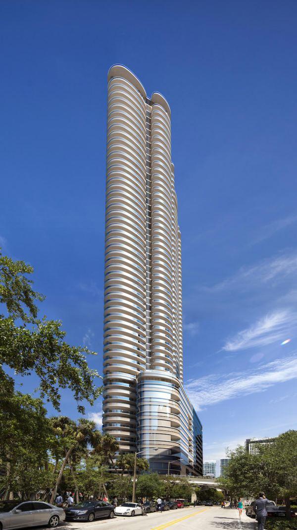 Brickell Flat Iron Luxury Real Estate Miami