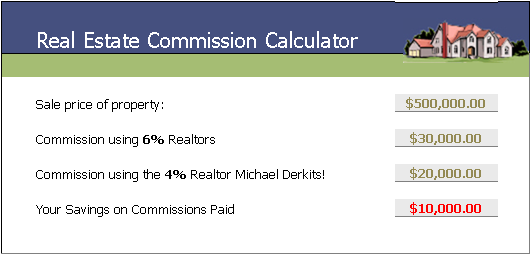 listing calculator the big difference 4 vs 6 realtors