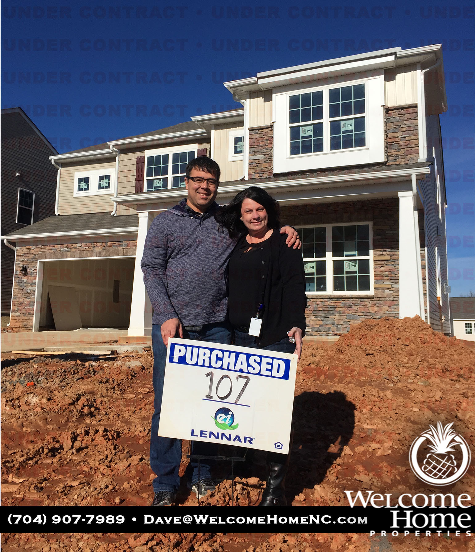Congratulations Sherri And Nelson On Your New Home