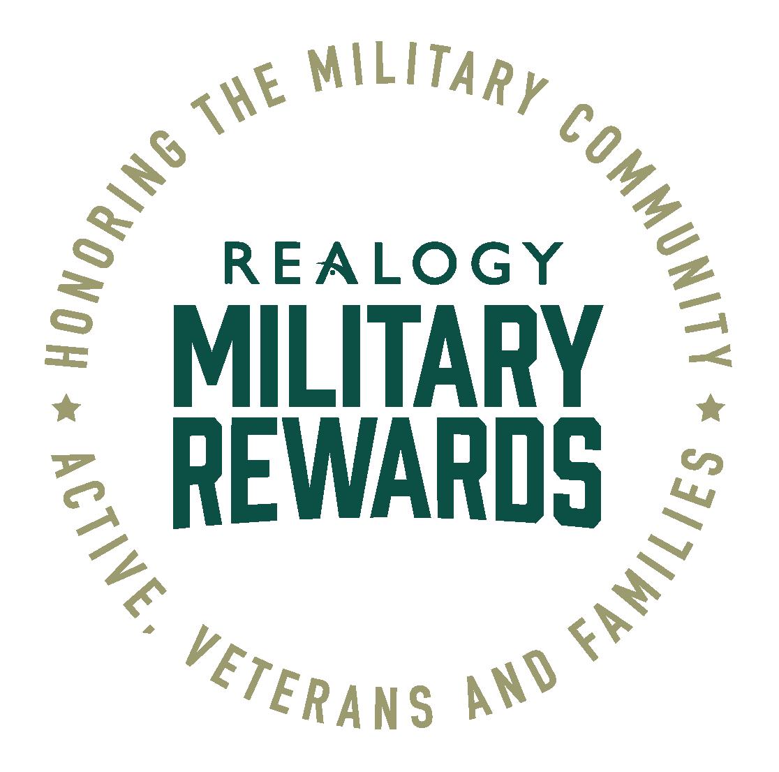 Realogy Military Rewards Badge Logo