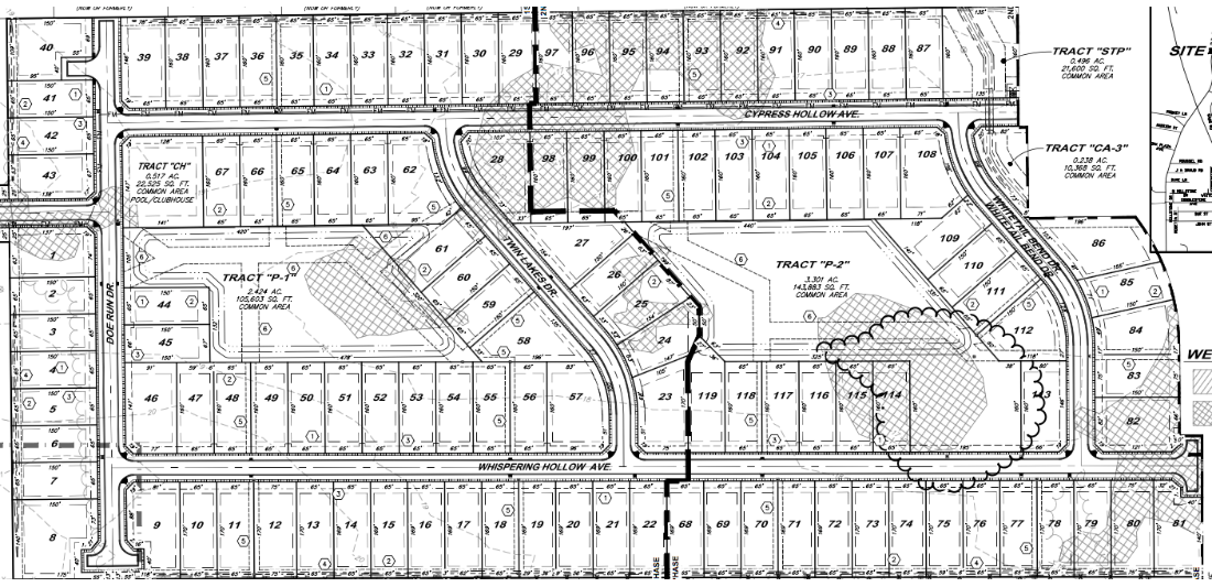 The hollows of dutchtown subdivision in prairieville la for Subdivision house plans