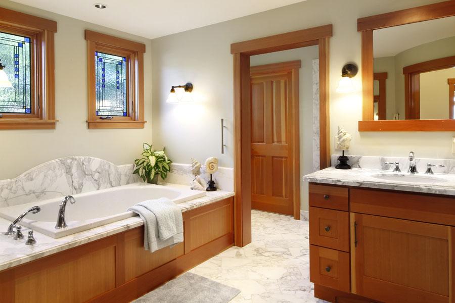 Master Bath - Casa Pacifica Estate, Mendocino | For Sale