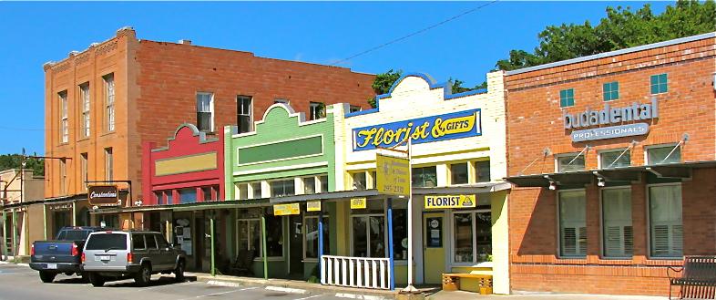 Historic Downtown Buda, Texas