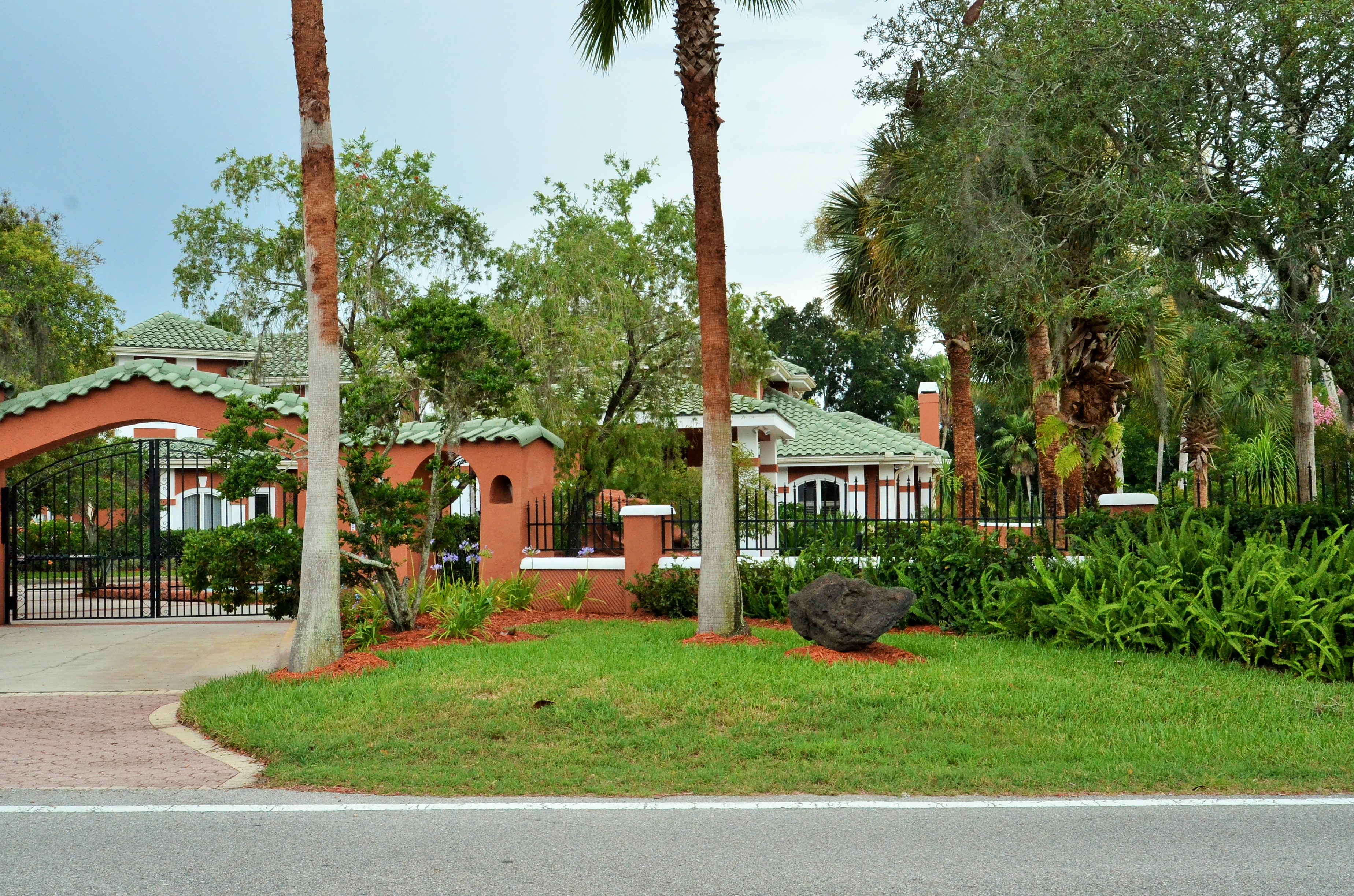 Gated 1 Acre Compound