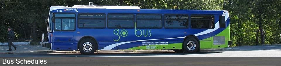 NJ Transit Bus Schedules