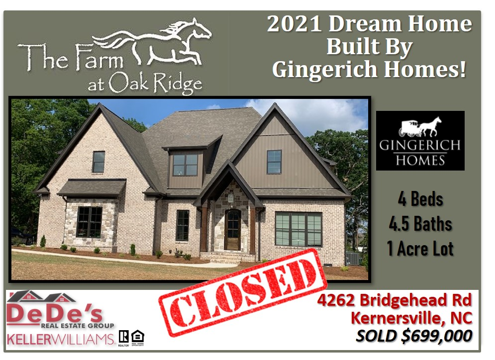 HOMES ARE SELLING IN THE FARM AT OAK RIDGE!!!