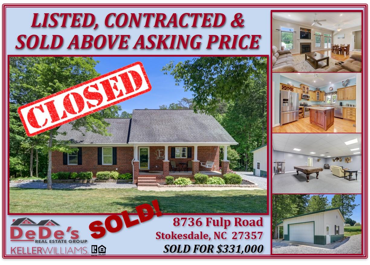 Let's Talk Real Estate! 336-485-5711!