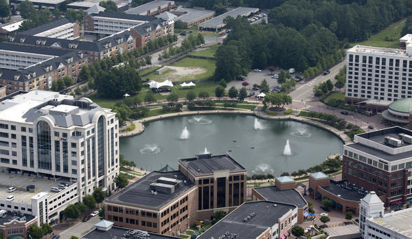 City Center, Newport News, Virginia