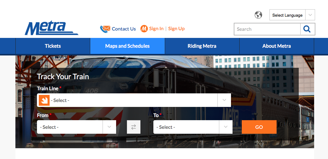 Metra Train Schedule