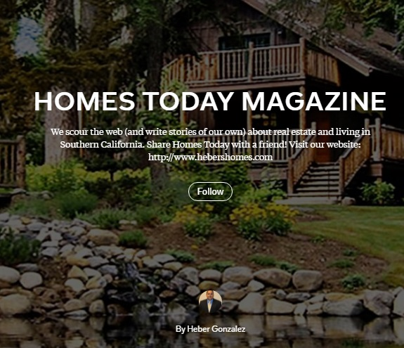 Homes Today Magazine Cover by Realtor Heber Gonzalez