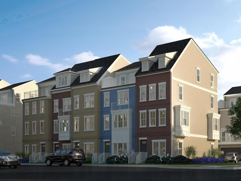 Winchester's New Townhomes at Glenmont Metro in Silver Spring