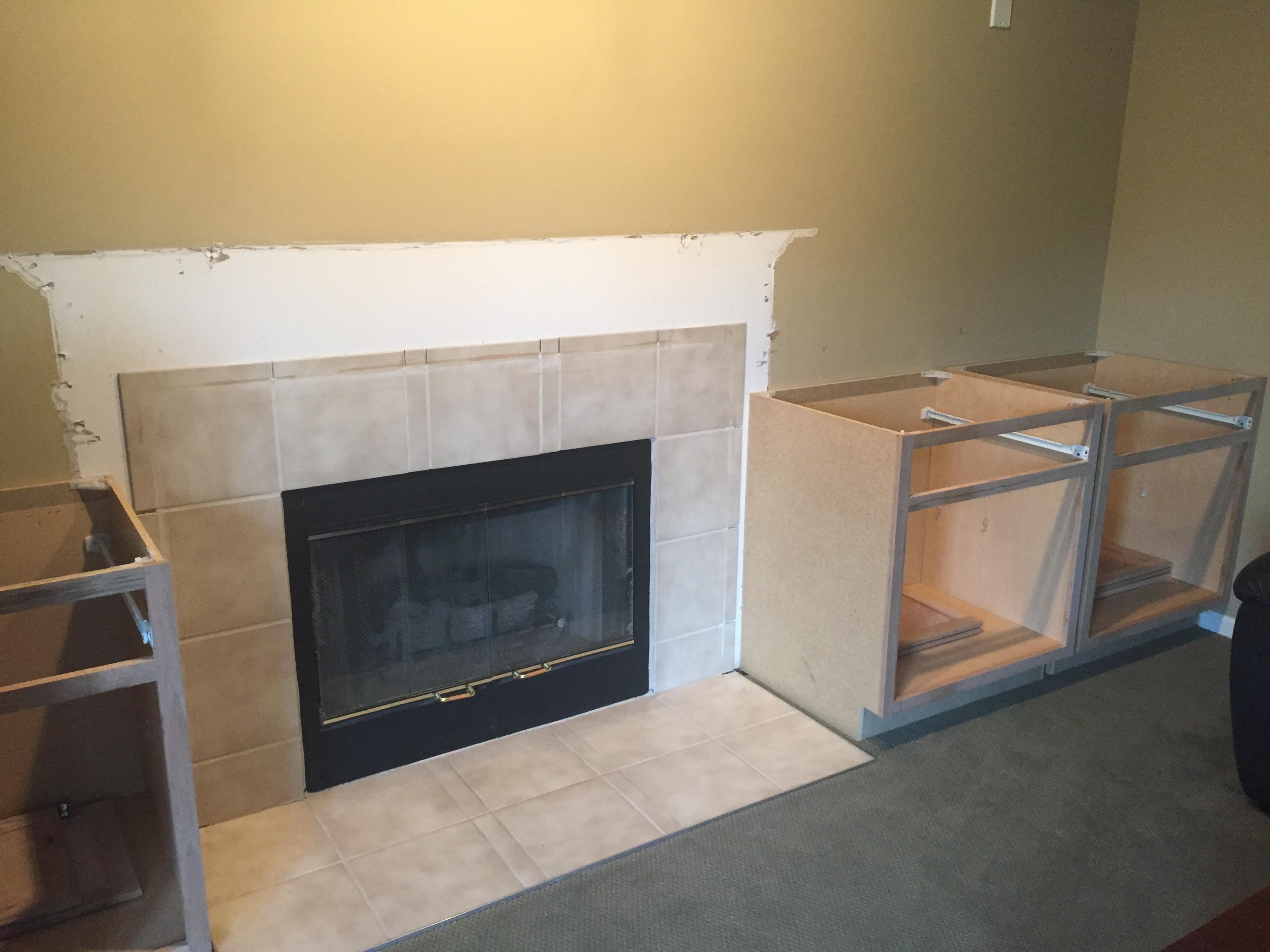 Diy Fireplace Built Ins Columbus Real Estate Blog
