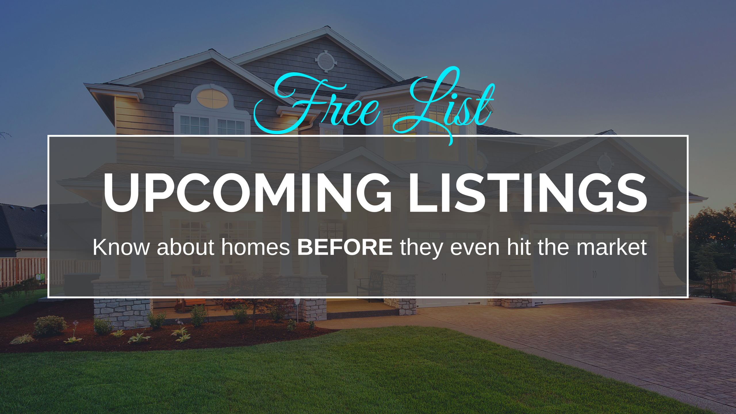 Get your free list of upcoming listings in Columbus, OH